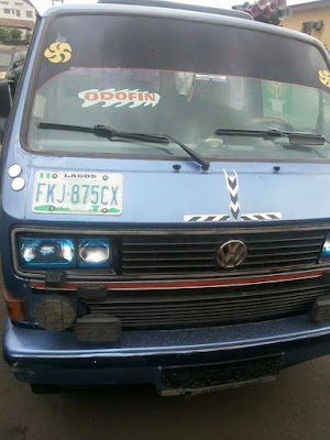 LASTMA arrests Danfo driver with stolen vehicle