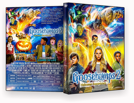 CAPA DVD – Goosebumps 2 – ISO – cinema