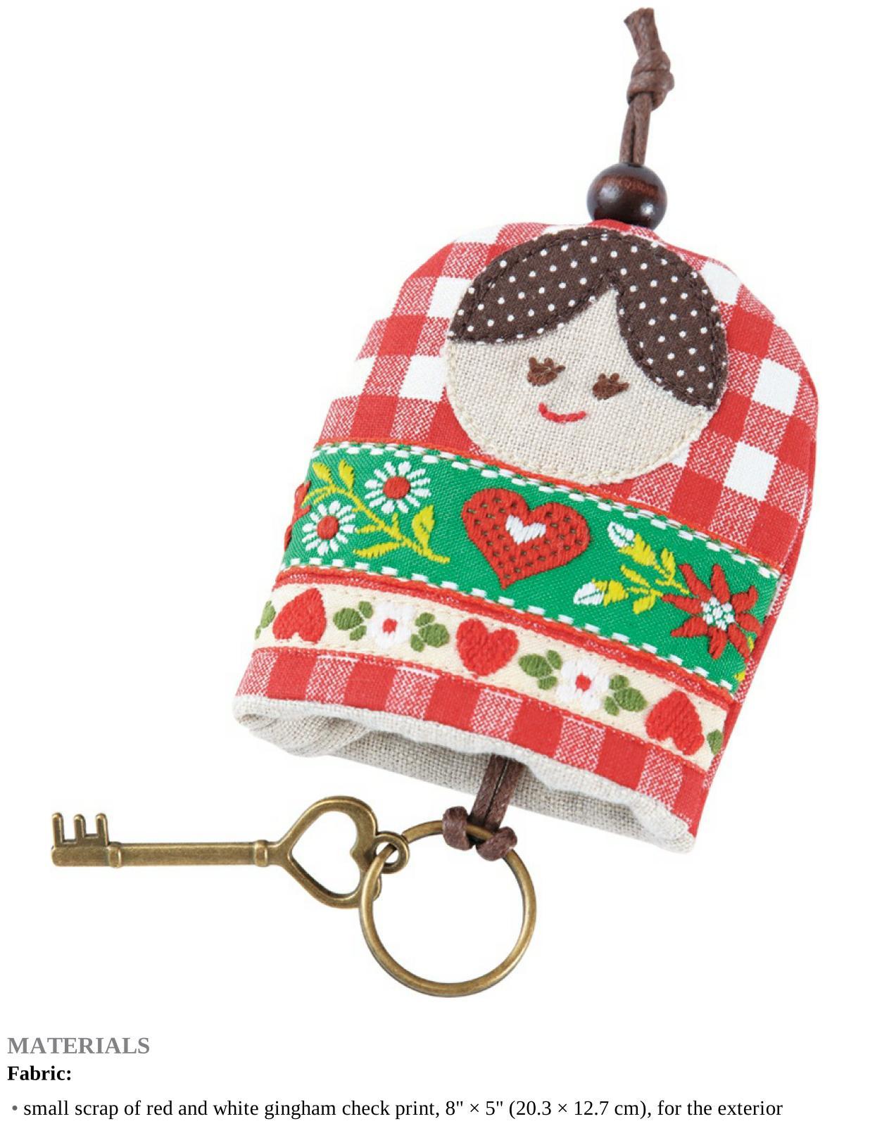 Matryoshka Doll Key Cover