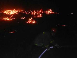 Hubo focos en Ullum, Albadón y Angaco mientras que aún trabajan en el incendio de El Médano.
