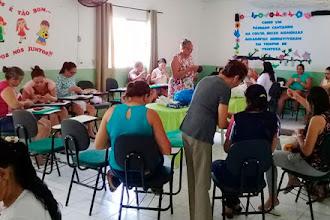 Ceacri realiza primeiro dia da oficina de confecção de jogos educativos