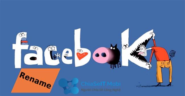 Làm thế nào để Đổi tên Facebook đã quá số lần