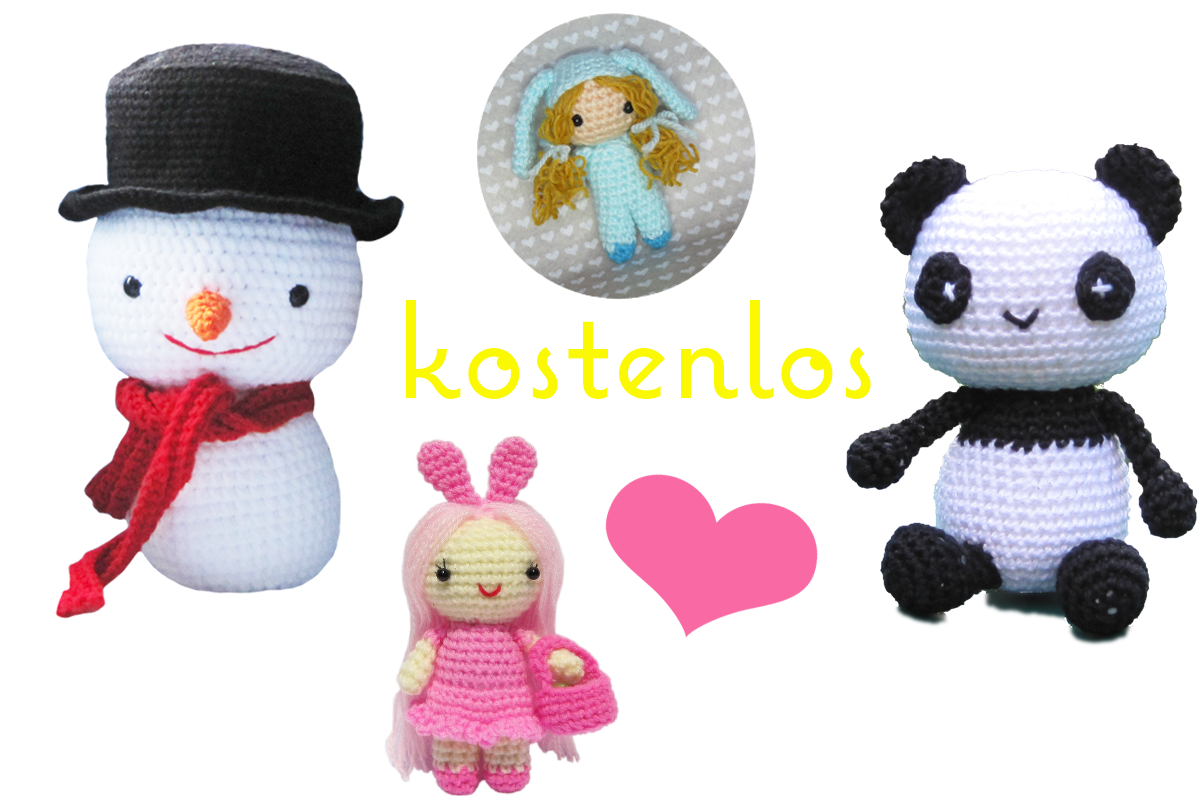 amigurumi h kelanleitungen von k and j dolls. Black Bedroom Furniture Sets. Home Design Ideas