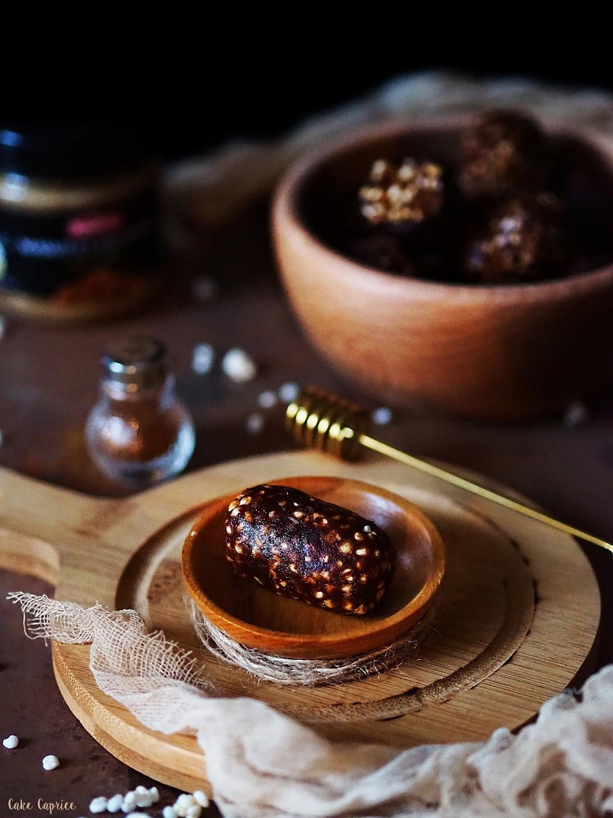 zdrowe czekoladki