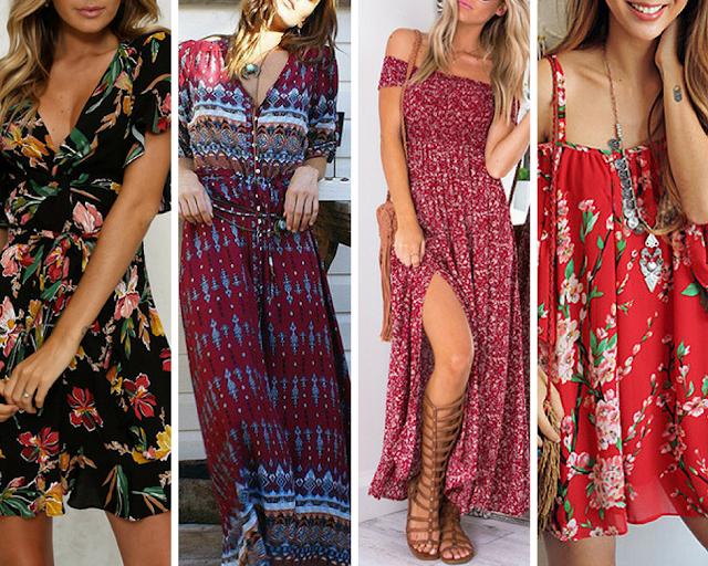 Sélection de robe printemps/été 2018