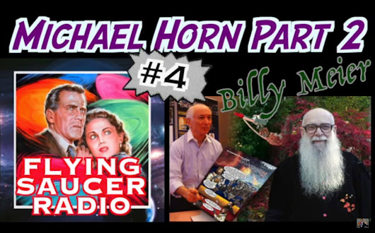 Flying Saucer Radio (Ep. #4, Part 2, Mar. 22, 2018): Interview with Michael Horn