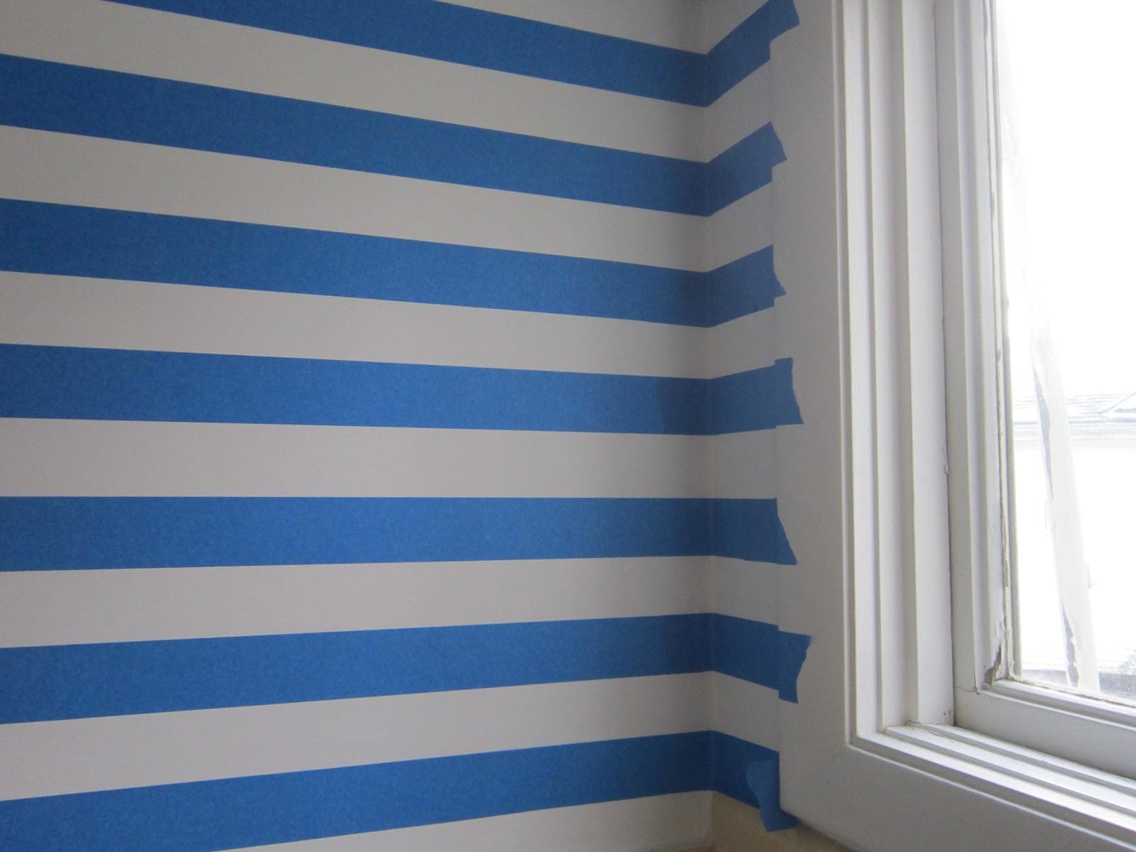 design megillah painting perfect stripes. Black Bedroom Furniture Sets. Home Design Ideas