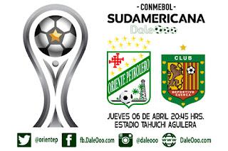 Copa Conmebol Sudamericana 2017 - Oriente Petrolero vs Deportivo Cuenca - DaleOoo