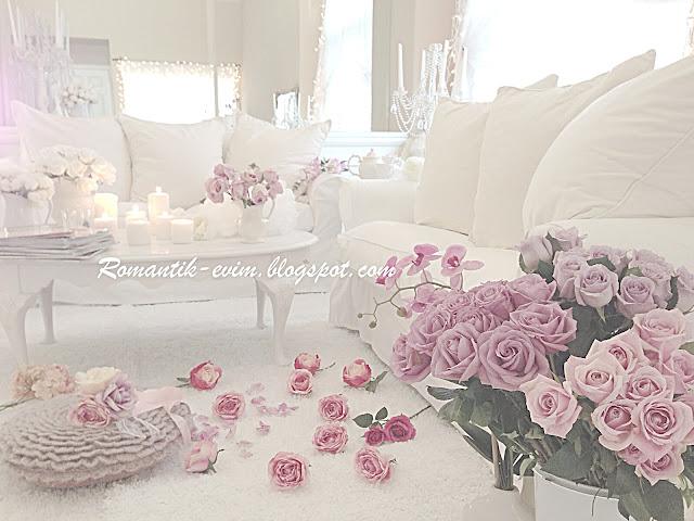 My Shabby Chic Home ~ Romantik Evim ~Romantik Ev: Romantik ev:@ My ...
