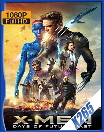 X-Men: Days Of Future Past [THE ROGUE CUT] [2014] [Latino] [1080P] [X265] [10Bits][ChrisHD]