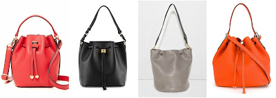 One of these bucket bags is by SR Squared on sale for only $35 and the other three are all over $1,000. Can you guess which one is the more affordable bag? Click the links below to see if you are correct!