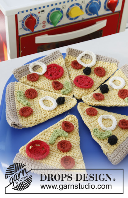Pizza au crochet