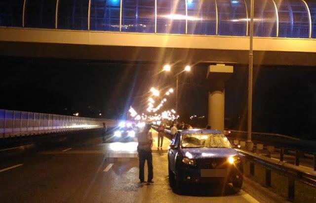 На дороге Уфа-Аэропорт иномарка сбила мужчину
