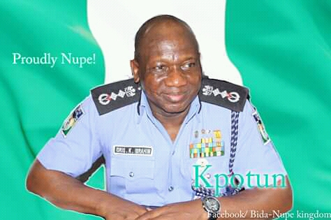 Proudly Nupe Nigerian IGP Ibrahim Kpotun Idris