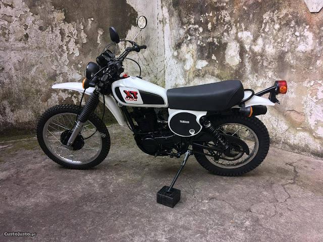 Yamaha XT 500 Restored by Rebuild Garage, France