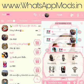FMWhatsApp v7.10 Pink Edition