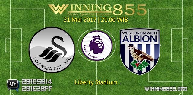 Prediksi Skor Swansea City vs West Bromwich 21 Mei 2017