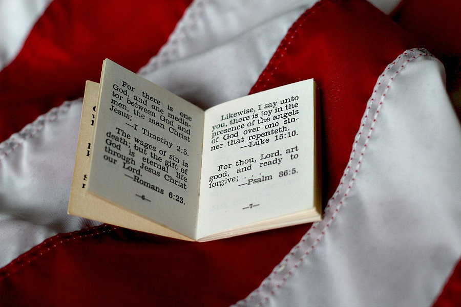 Lest We Forget Memorial Day Remembrance and Tiny Soldier Bible