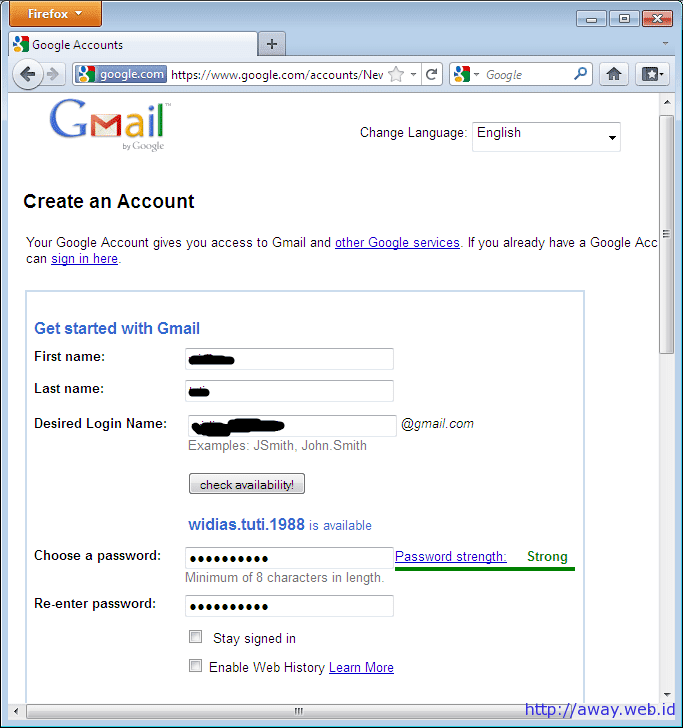 Tips : How To Create A Gmail Account ~ Sharedcomp
