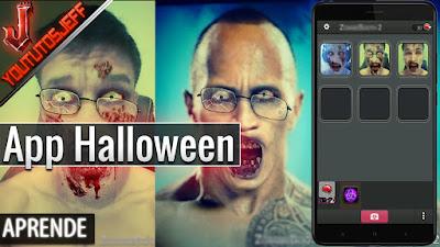 Impactante aplicación para Halloween