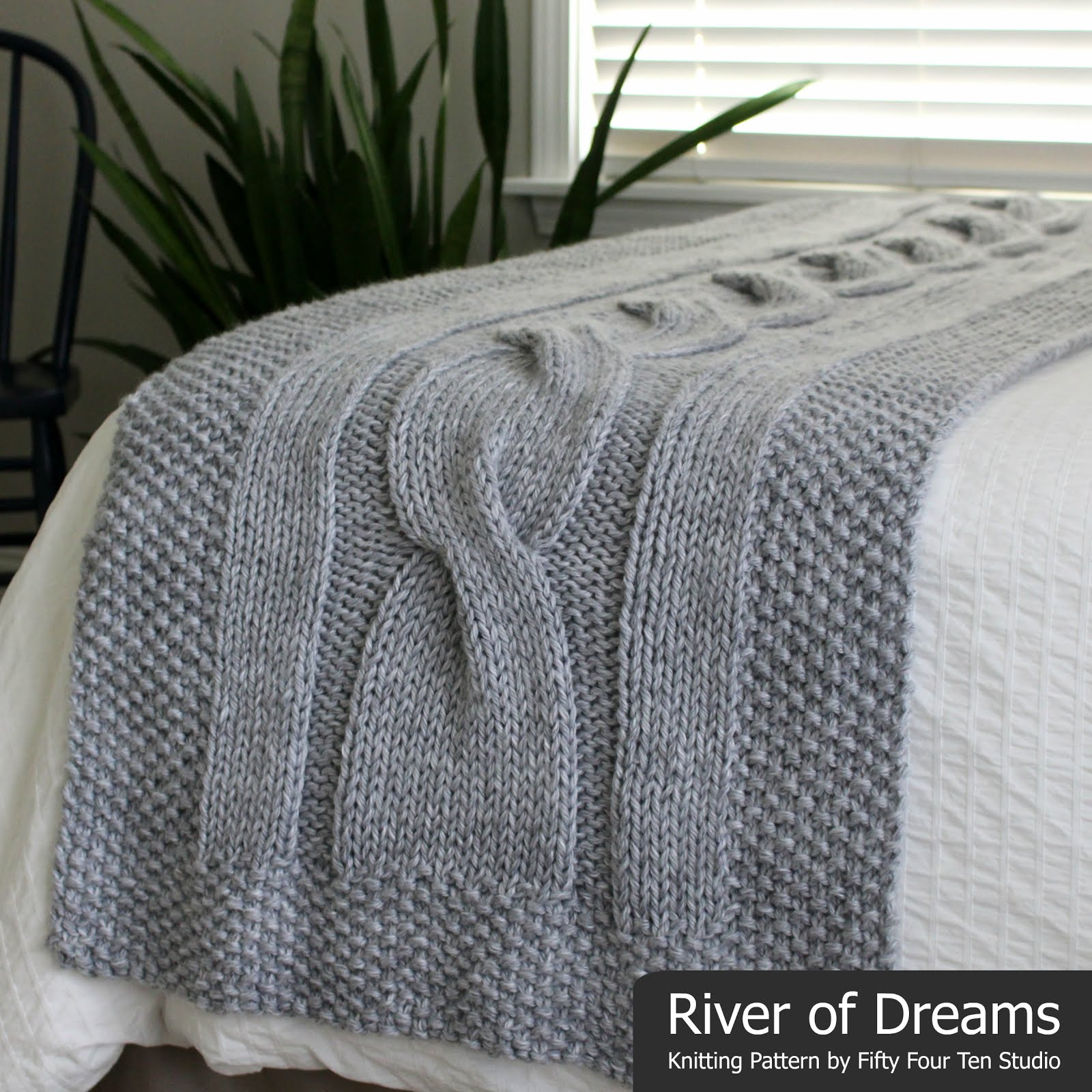 River of Dreams Bed Runner Blanket