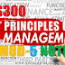 Module-5 Note for Principles of Management HS300 | S5 S6 Common Subject
