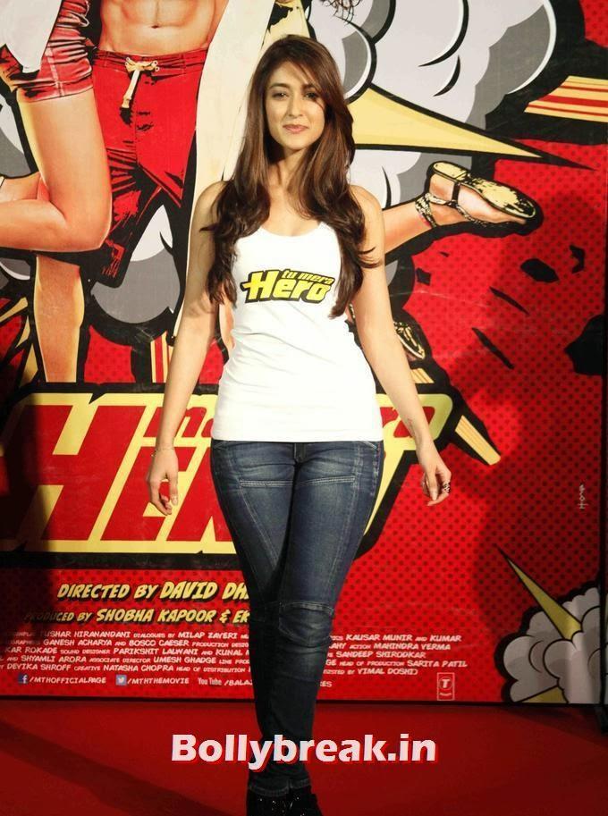 , Ileana D Cruz Main Tera Hero Trailer Launch Images