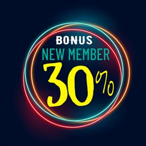 LegendsPoker promo bonus 30% new member