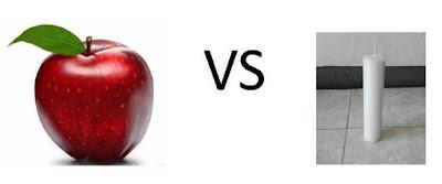 makan apel sama dengan makan lilin jika tanpa dicuci