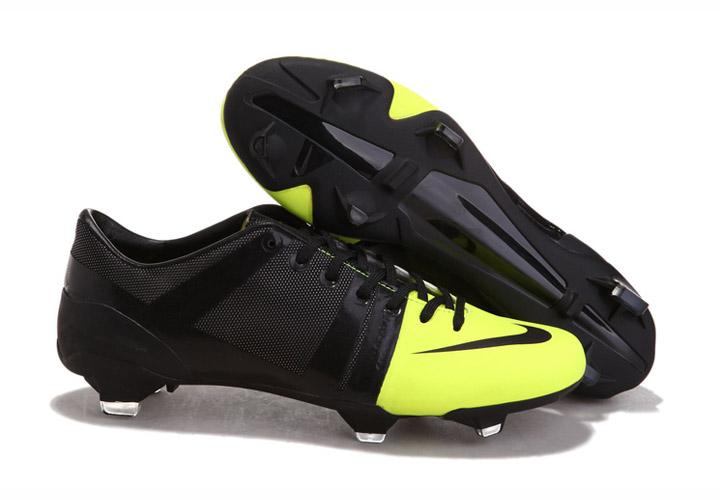 reputable site b0b8c 888d9 Nike GS chaussures de football pour Homme Noir VERT 545287-700 Nike gs 2012- Chaussures de Football Nike Mercurial Vapor Superfly Ⅲ,Adidas F50.