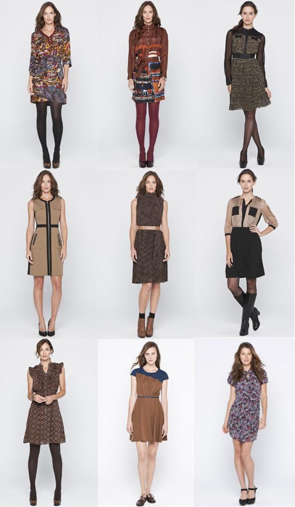 vestidos de adolfo dominguez otoño-inviernos 2012 2013