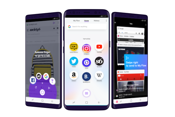 Opera Touch browser for Android launched, iOS version coming soon