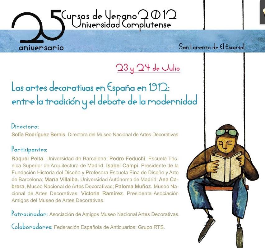 Curso Museo Artes Decorativas Complutense