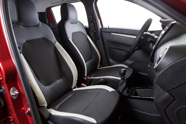 Renault Kwid - Brasil - espaço interno