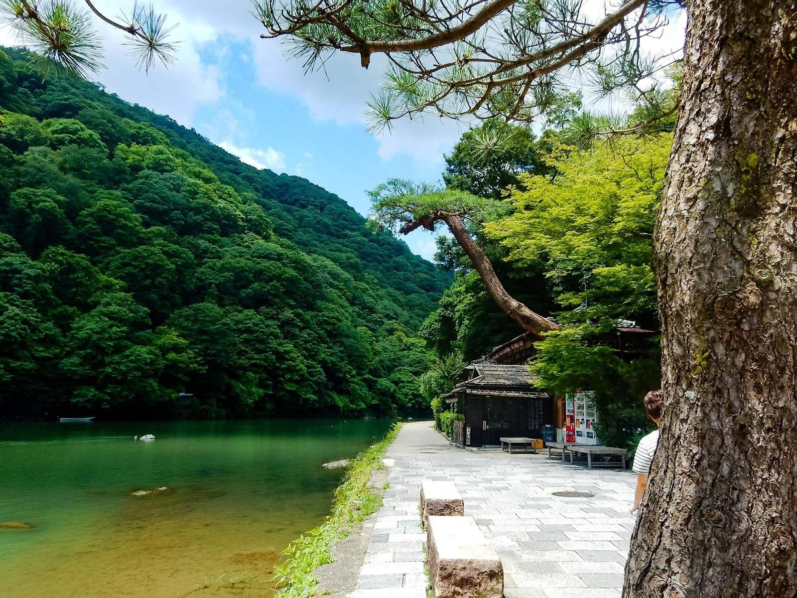 oi river arashiyama