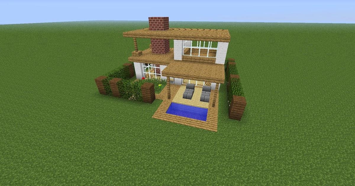 Model Rumah Keren Minecraft Design Rumah Model Terbaru