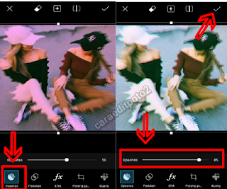 Tutorial Edit 3D Effect Camly Via Picsart