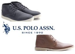 U.S.Polo Assn Men's Footwear – Min 50% – upto 65% Off @ Flipkart (Limited Period Deal)
