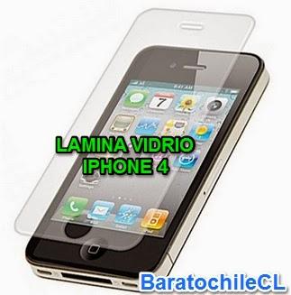 Mica vidrio templado Iphone 4 4s