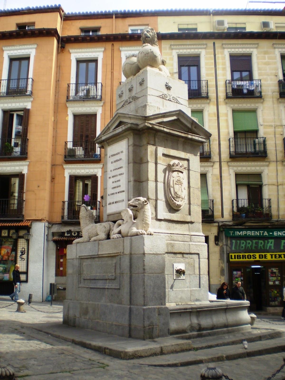 Pasi n por madrid la fuentecilla - Centro historico de madrid ...