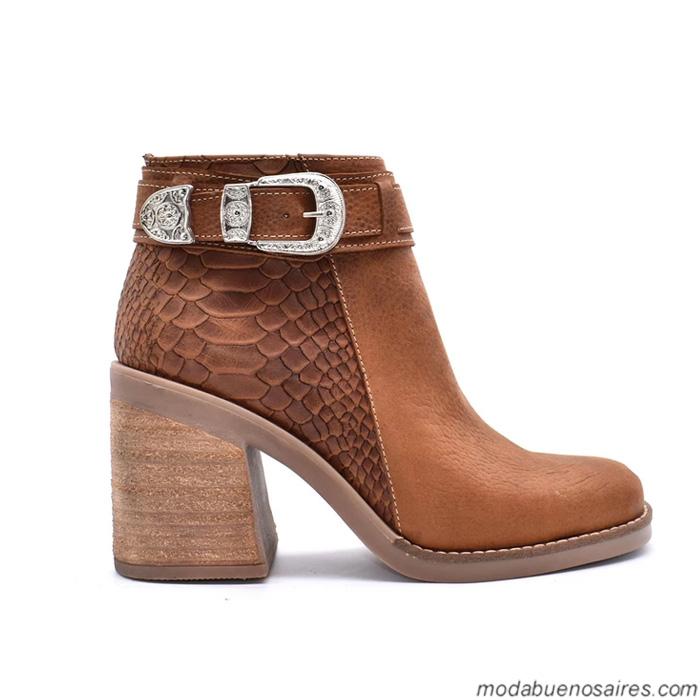 Botas 2019. Moda calzado femenino otoño invierno 2019. Moda mujer botas.