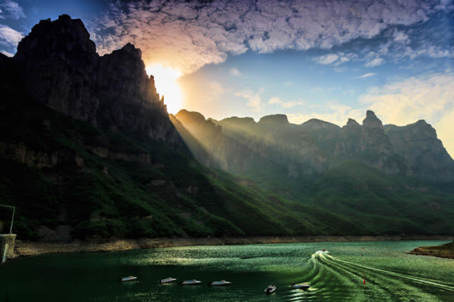 Red Stone Valley, Henan, Cina