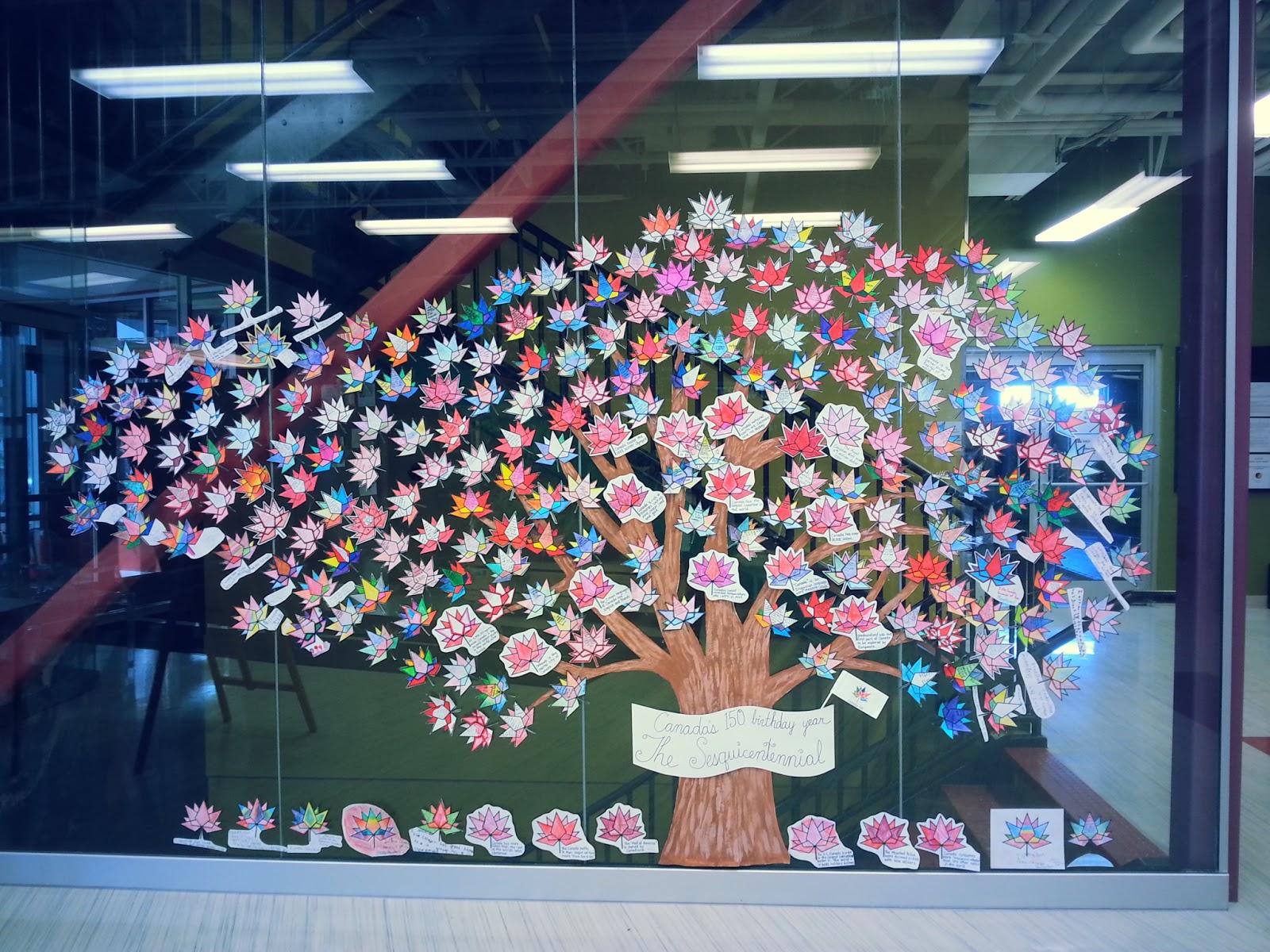 a faithful attempt canada 150 whole maple leaf u0026 tree display