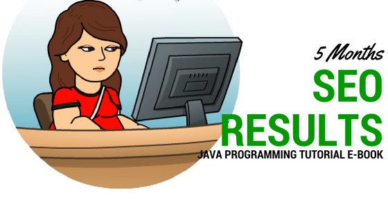 5 Months SEO Result for a Java programming Tutorial E-book Gay Aida Dumaguing SEO specialist philippines SEO service