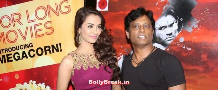 Tia Bajpai, Anand Kumar, Sasha Agah, Tia Bajpai Pics from 'Desi Kattey' Trailer Launch