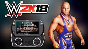 WWE 2K18 iso PPSSPP For Android Free Download