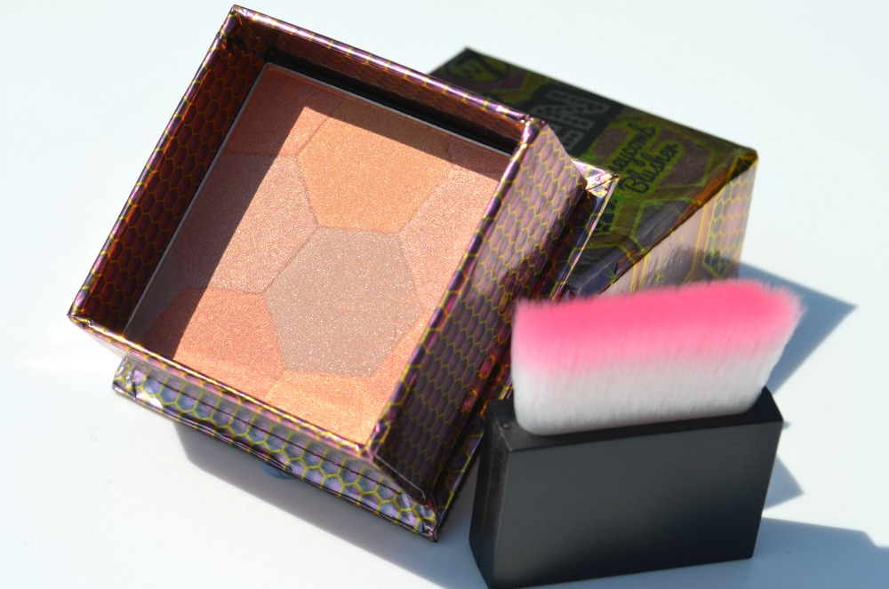W7 The Honey Queen Honeycomb Blusher Review / Swatches