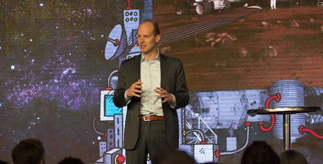 Mars One CEO Bas Lansdorp