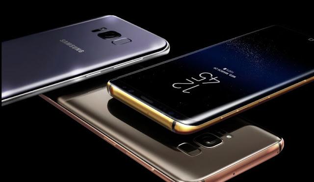 Samsung Galaxy S8 Case Emas
