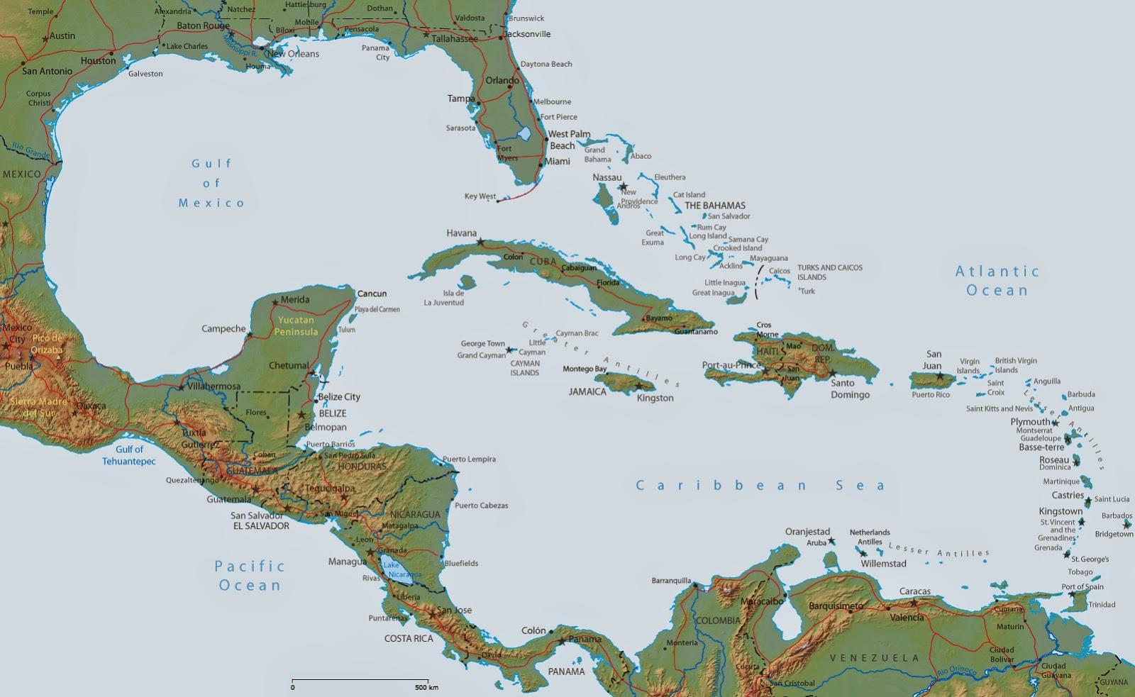 Latin America & the Caribbean - 548: Unit I: Basic ...
